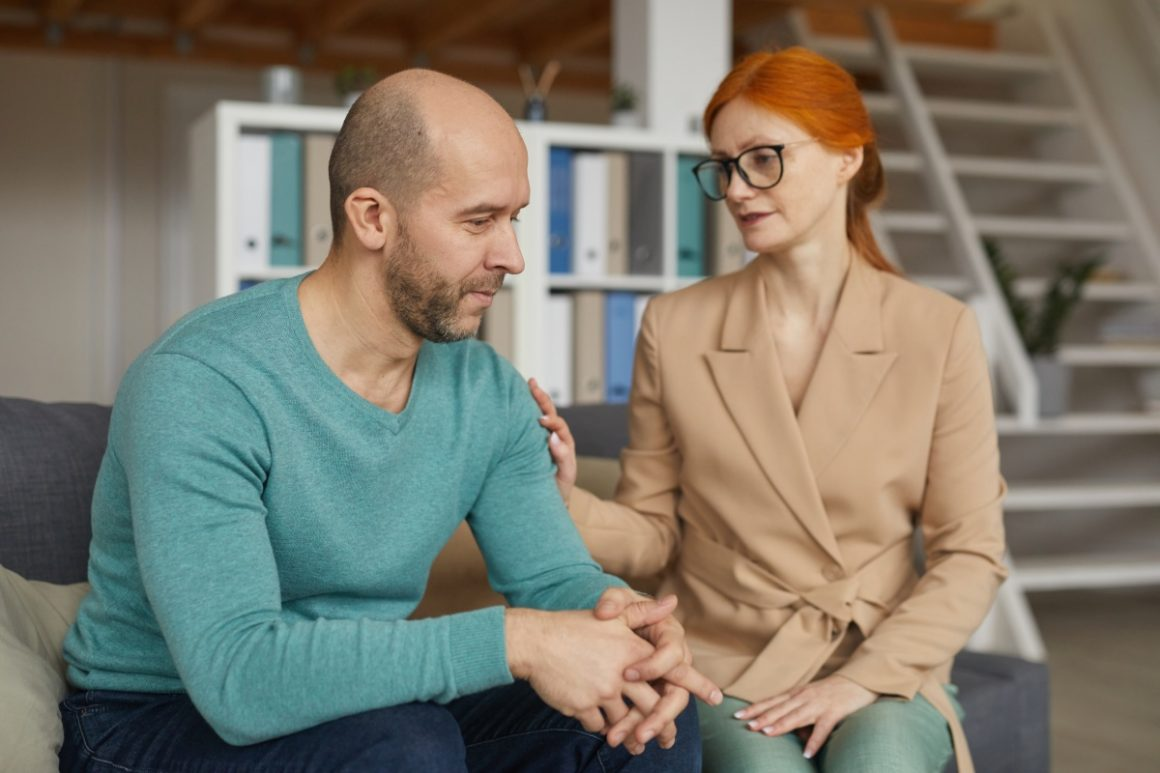 Pomoc psychoterapeuty bywa konieczna