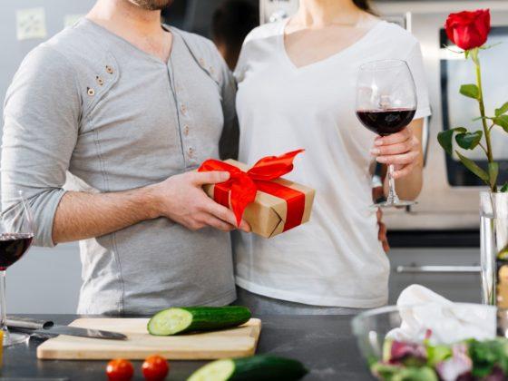 Romantyczne Walentynki w domu