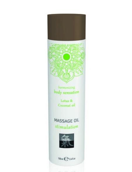 Pobudzający olejek do masażu