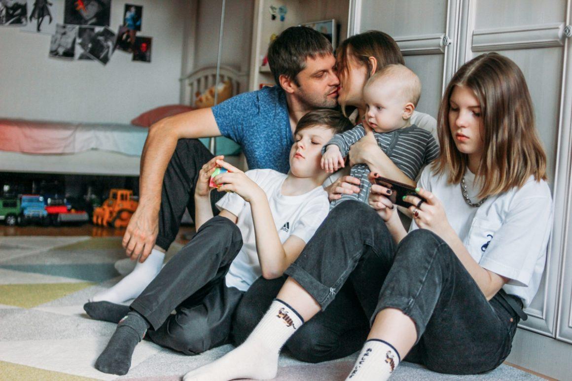 Rodzina patchworkowa i dzieci
