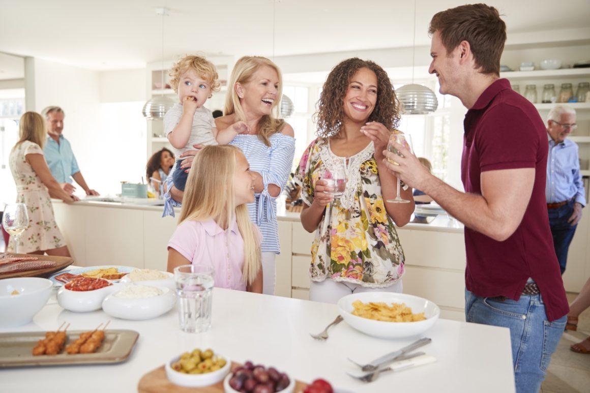 Szczęśliwa rodzina patchworkowa